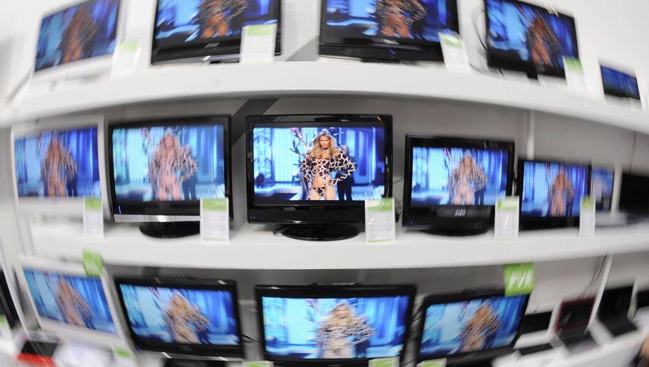 LCD-Fernseher: Die Einfuhren nach Deutschland stiegen um 3,7 Prozent und damit noch stärker als der Export