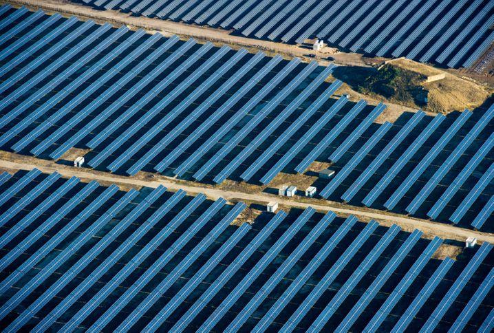 Solarkraftwerk in Brandenburg: Schlechte Aussichten für Gaskraftwerke