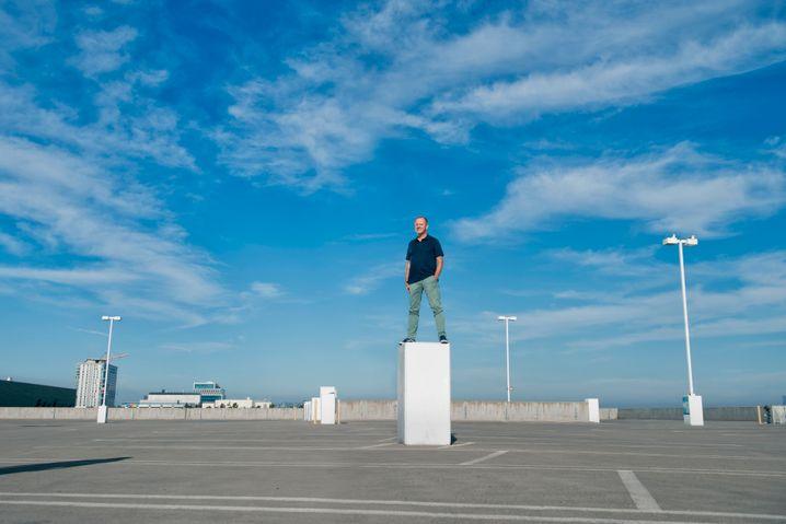 Last Man Standing: Der Investor Stefan Krause bei einem Shooting in Hollywood