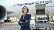 Die Cargo-Chefin ist der neue Star der Lufthansa