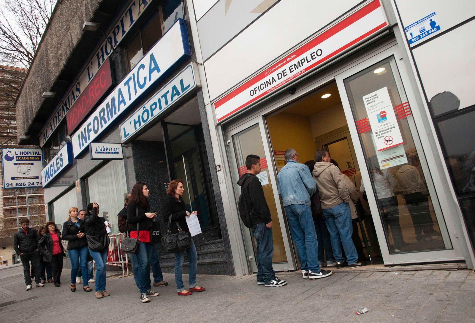 Spanien / Finanz-Krise / Arbeitslose