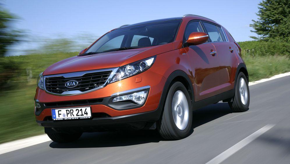 Kia Sportage: Soft-SUV mit Tigernase