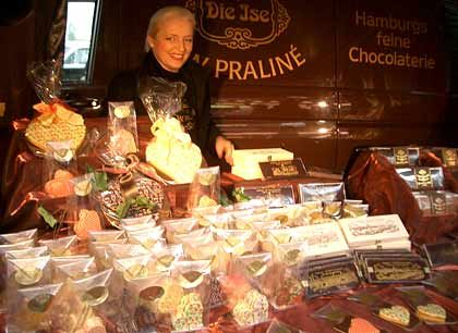 Auf dem Isemarkt fing alles an: Welschlau mag den direkten Kontakt zu Kunden