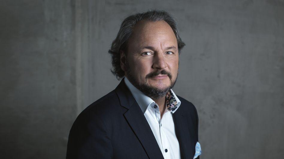"""""""Absturz ist bedauerlich"""": Freenet-CEO und Ceconomy-Großaktionär Christoph Vilanek."""