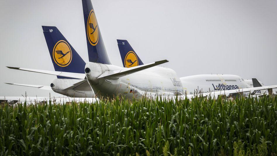Besonders attraktiv für Hedgefonds: Wetten gegen die Lufthansa.