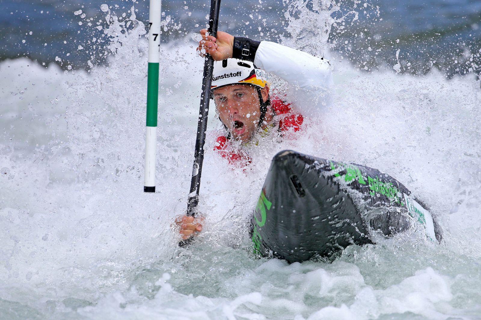 Europameisterschaften Slalom-Kanu