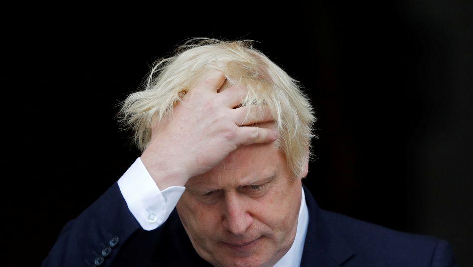 """Boris Johnson: Der britische Premier hat das """"Yellowhammer""""-Dokument vorgelegt, doch bei weitem nicht alle Papiere zu den Planungen und Erwartungen der Regierung im Falle eines ungeregelten Austritts Großbritanniens aus der EU (No-Deal-Brexit)"""