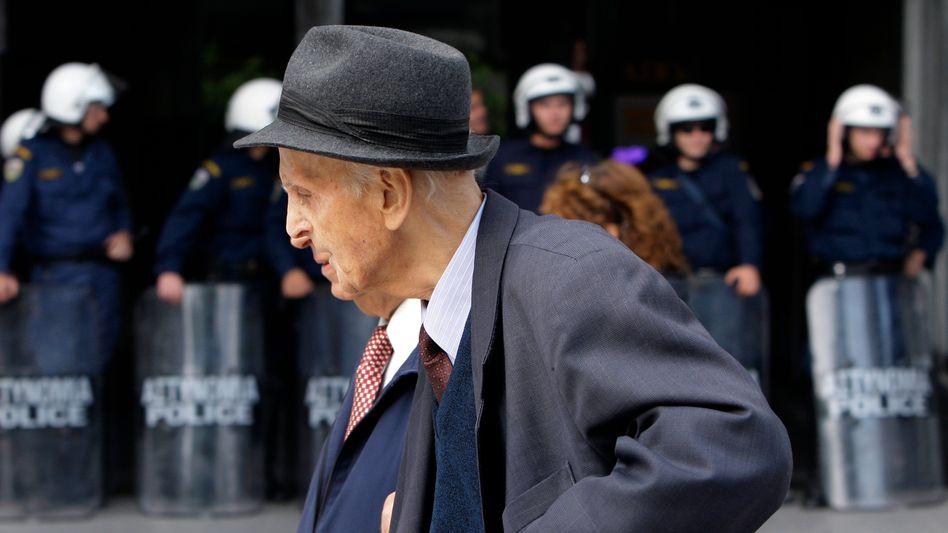 Griechischer Rentner: Sozialbetrug bei der Rente sorgte schon mehrfach für Schlagzeilen
