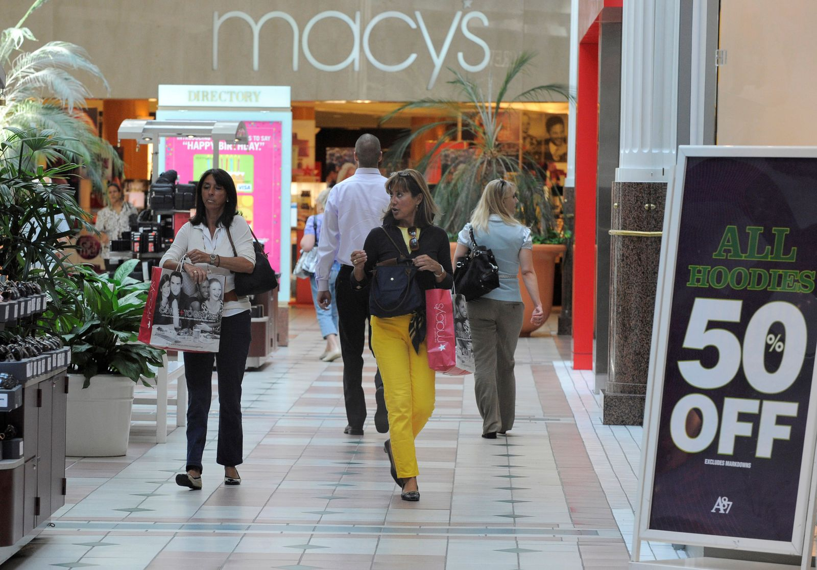 Shopping mall / Einkaufszentrum / USA