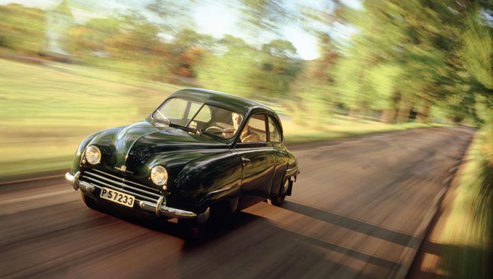 Fotostrecke: Saabs kantige Autoklassiker