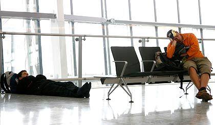 Nicht viel los: An den BAA-Flughäfen, wie hier in Heathrow, ist das Passagieraufkommen zurückgegangen