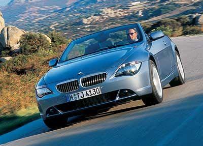 Fast schon ein Ami: Das BMW 645Ci Cabrio ist so luxuriös und stattlich, dass es in Detroit fast als einheimischer Schlitten durchgeht