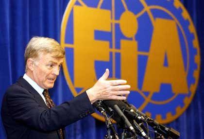 Überraschender Abgang: Fia-Präsident Mosley, nach Bernie Ecclestone zweitmächtigster Mann der Formel 1