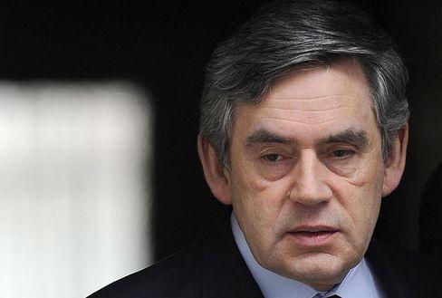 Kein Staatsgeld für schottische Bausparkasse: Der britische Premier Gordon Brown