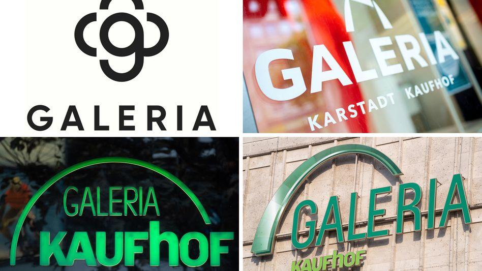 """Modernisierungsprogramm: Das neue Logo (oben links) habe in der Marktforschung """"außerordentlich gut abgeschnitten"""", so GKK-Chef Miguel Müllenbach"""