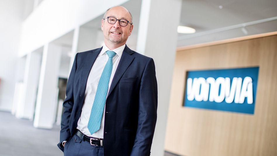 """""""Wir sind weiterhin auf Kurs"""": Vonovia-Chef Rolf Buch"""