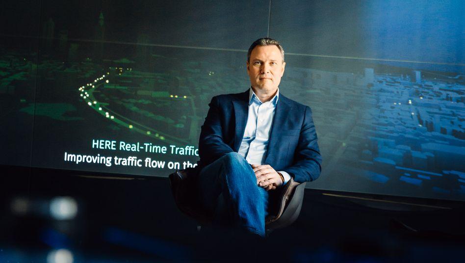 Verfahren: Here-CEO Edzard Overbeek sollte Karten für Roboautos liefern