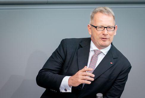 Zu Diensten: Der damalige Bundestagsabgeordnete Johannes Kahrs