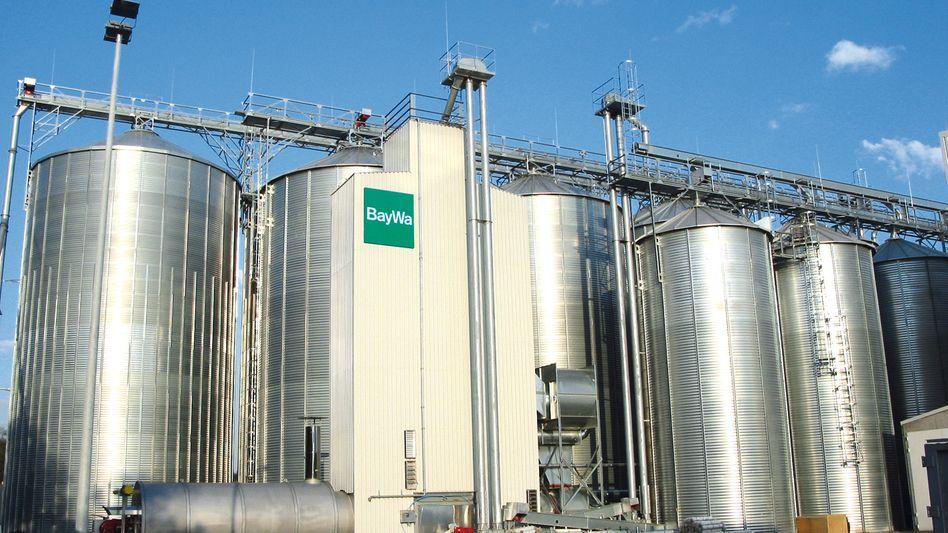 Getreidesilo von Baywa: Unternehmen kauft erheblich zu
