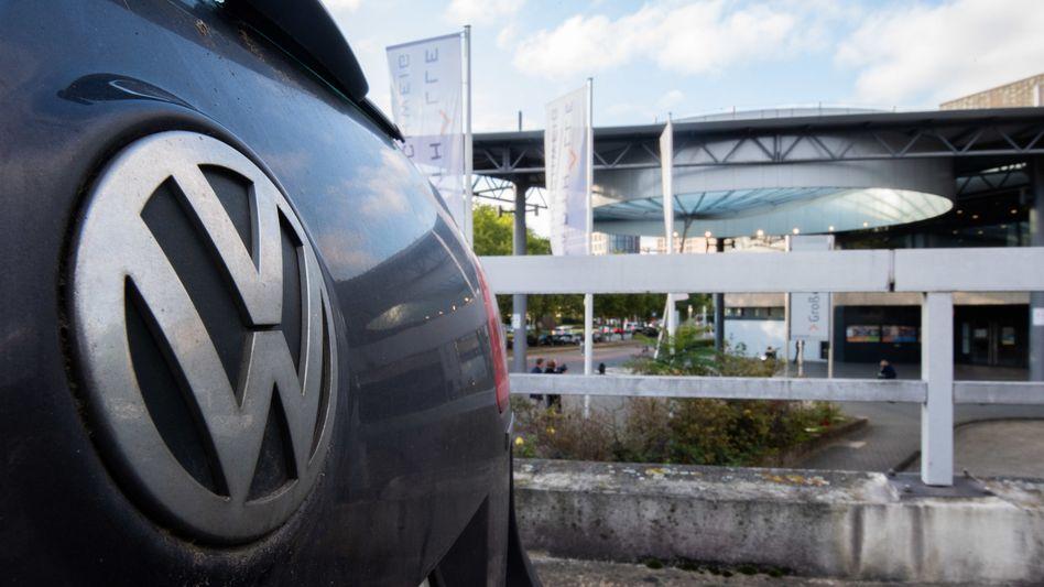 Aufarbeitung eines der größten deutschen Wirtschaftsskandale: Wegen des großen öffentlichen Interesses findet der Prozess in der Stadthalle Braunschweig (im Bild) statt