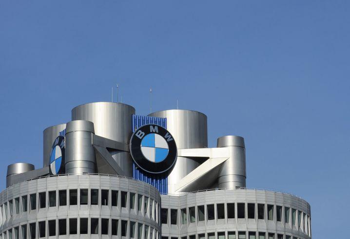 """BMW-Zentrale in München: """"Der BMW-Diesel hat Zukunft"""", erklärt Konzernchef Harald Krüger nach wie vor"""