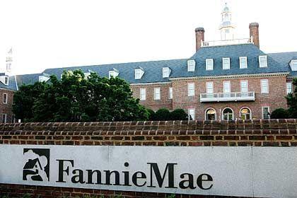 """Eine Geburt des New Deal: Die """"FNMH"""" sollte mehr US-Bürgern den Traum vom Eigenheim erfüllen. Aus dem Kürzel wurde Fannie Mae"""