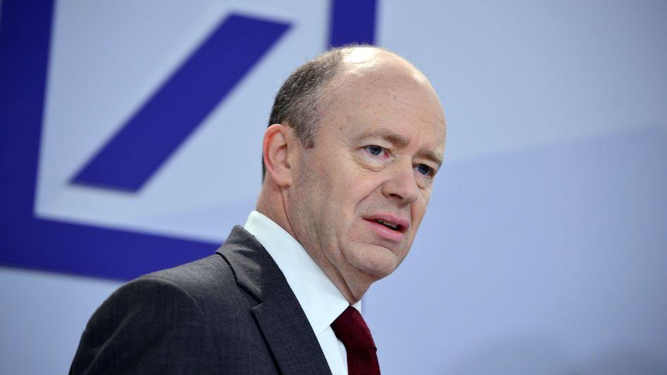"""Deutsche-Bank-Chef John Cryan: """"Es sind Kräfte unterwegs, die das Vertrauen in uns schwächen wollen"""""""