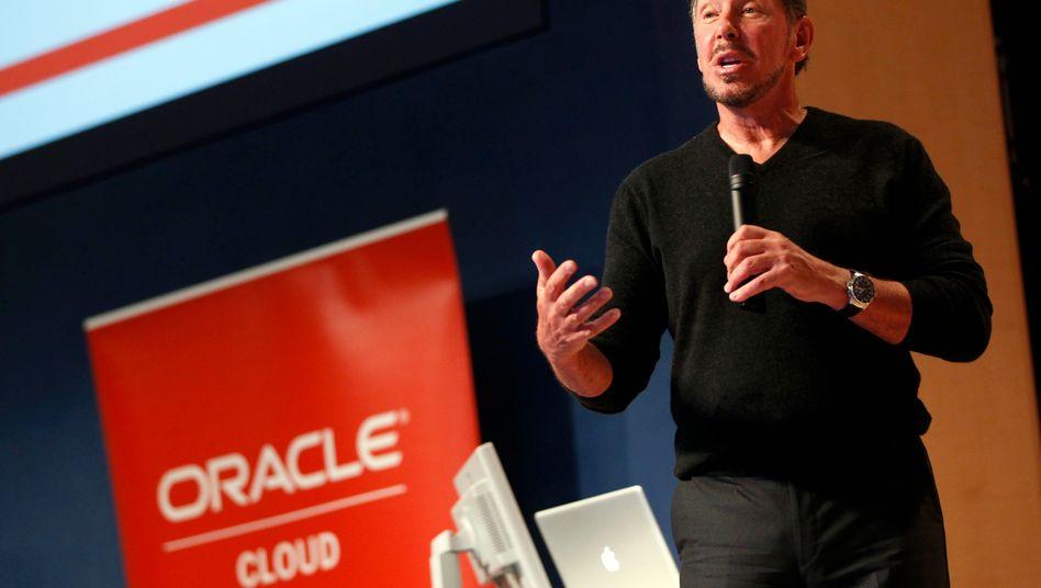 Oracle-Chef Larry Ellison enttäuscht die Anleger