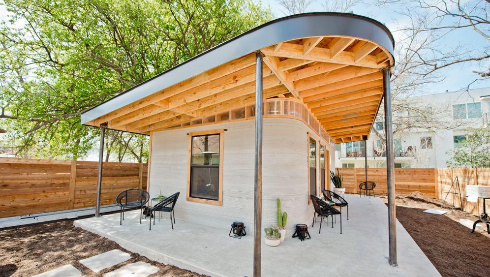 Immobilien: Haus aus dem 3D-Drucker