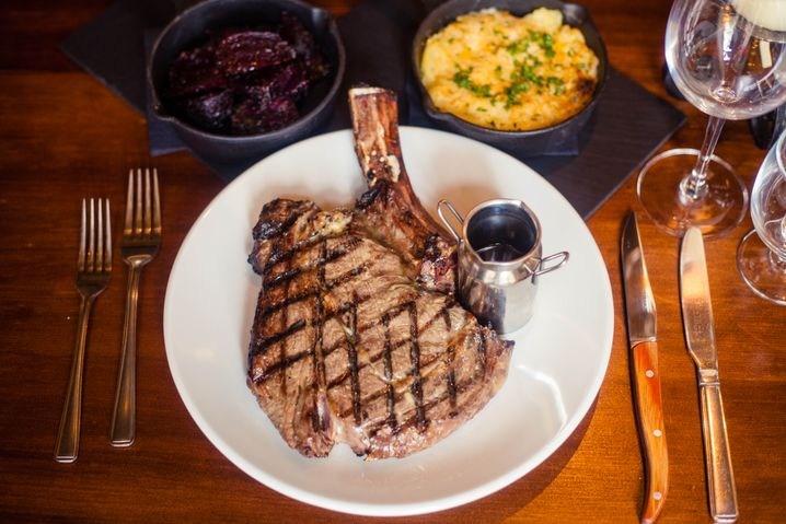 Das Abendmahl: perfekte Steaks