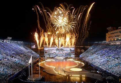 Quotenfeuerwerk Olympia 2002