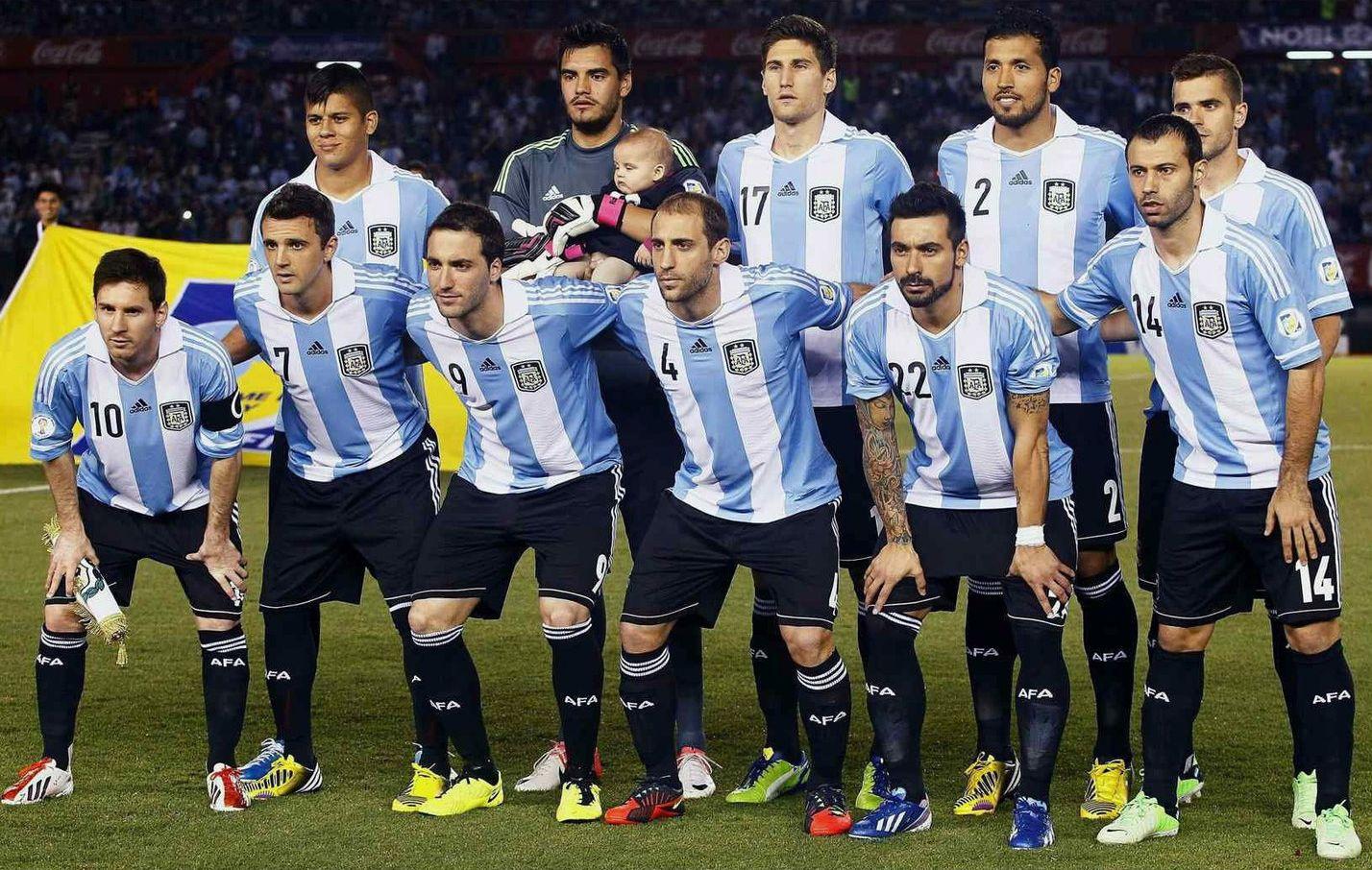 WM 2014/ Gruppe F/ Argentinien