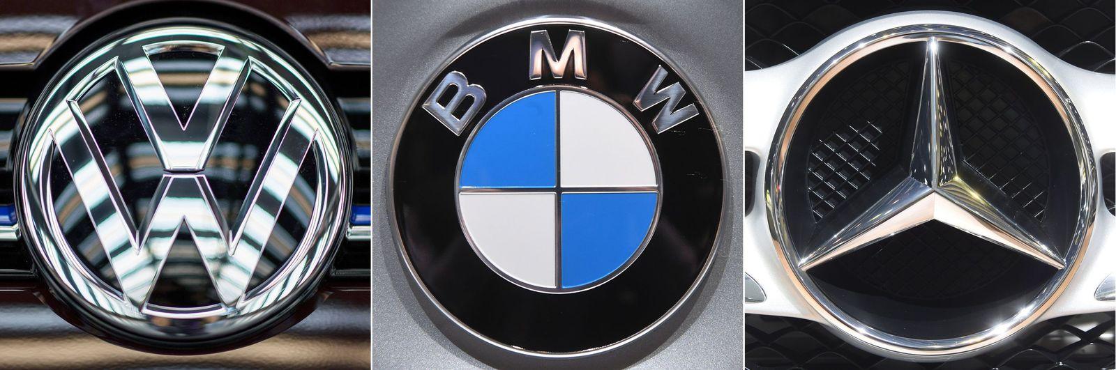 EU-Kartellermittlungen - BMW, Daimler und VW