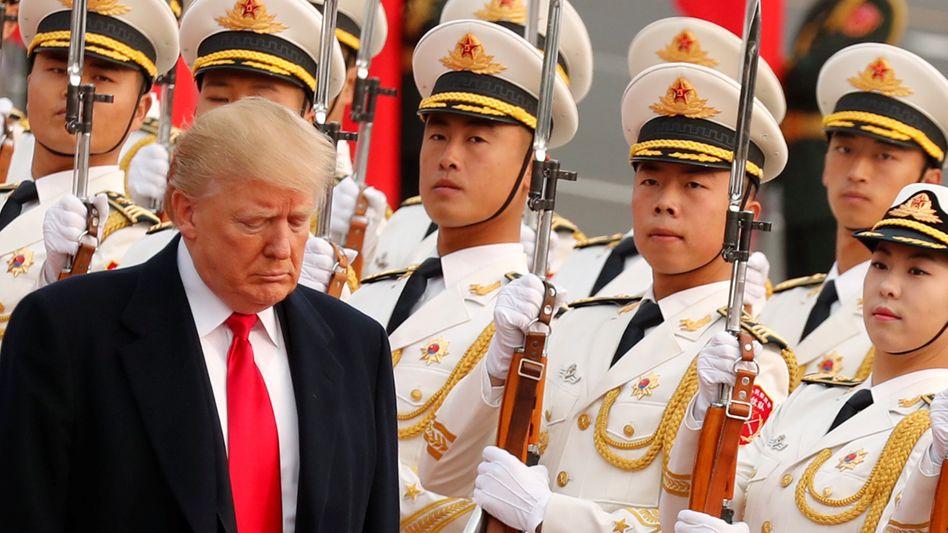 Handel als Waffe: Donald Trump in China