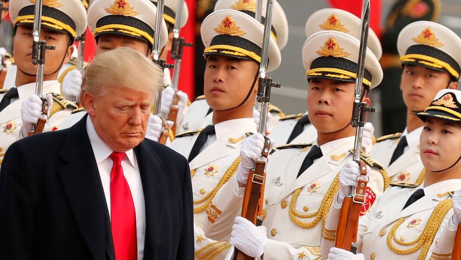 Handel als Waffe: Donald Trump in China
