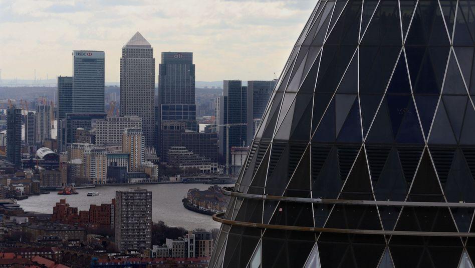 Kompetetiv: Ansicht von London.