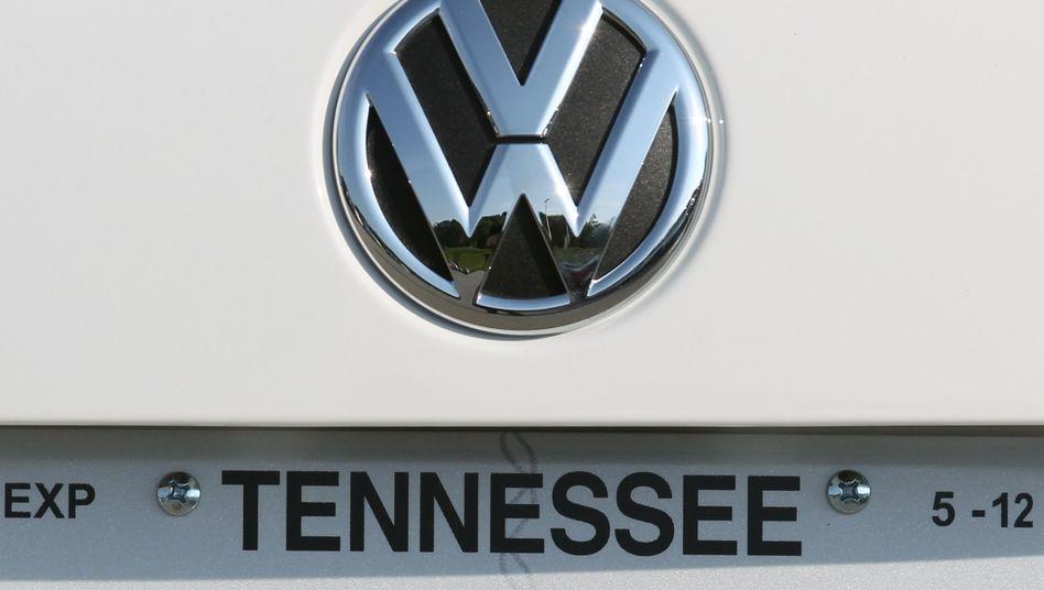 Volkswagen in den USA gefragt: Der VW-Konzern hatte erst Ende Mai im US-amerikanischen Chattanooga, Tennessee, ein neues Werk offiziell eröffnet