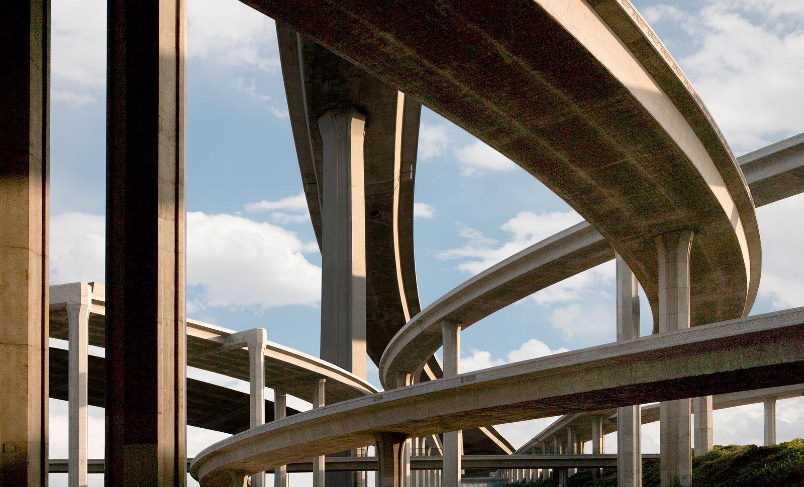Freeway Fantasy, several Los Angeles freeways