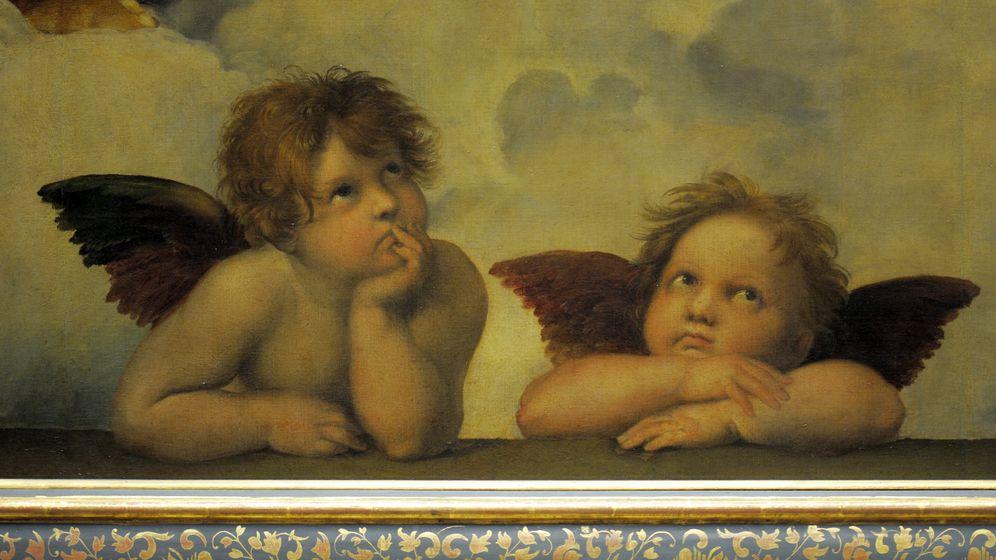 Diese Engelchen kennen wir alle von Grußkarten, Keksdosen und Kaffeetassen. Aber wer ist der Maler?