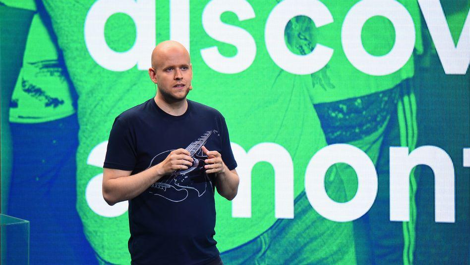 Spotify-Gründer Daniel Ek: Wachstum vor Profitabilität