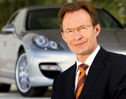 Designierter Wiedeking-Nachfolger: Porsche-Vorstand Macht soll den Autohersteller allerdings nur kommissarisch leiten
