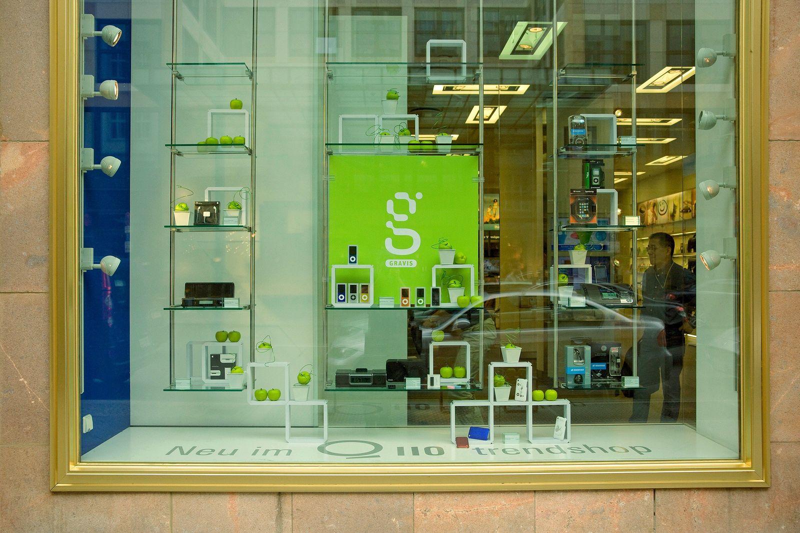 Gravis Store / Schaufenster