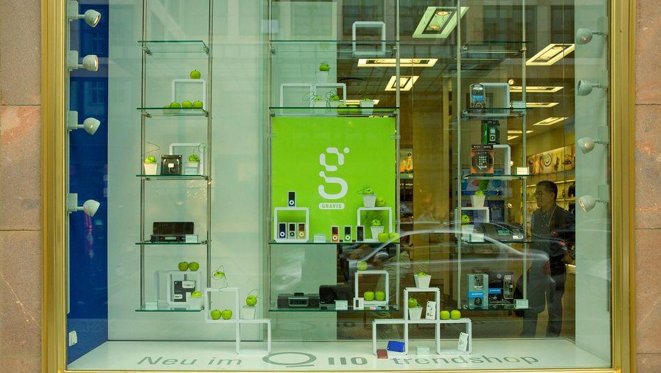 Gravis-Laden: Die Apple-Vertriebskette wechselt in den Besitz von Freenet