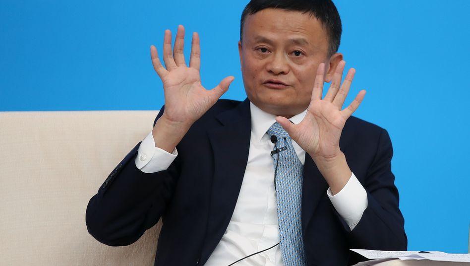 Ausgebremst: Alibaba-Gründer Jack Ma muss seine Börsenpläne für Ant verschieben