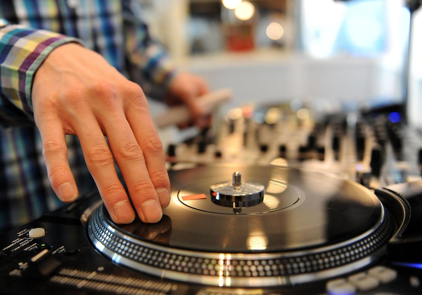 Musikmesse Popkomm 2011 / Schallplatte / Plattenspieler / DJ