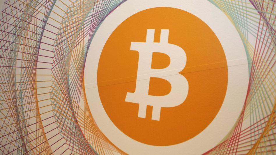 Bitcoin-Symbol: Die Digital-Währung verliert zusehends an Wert.
