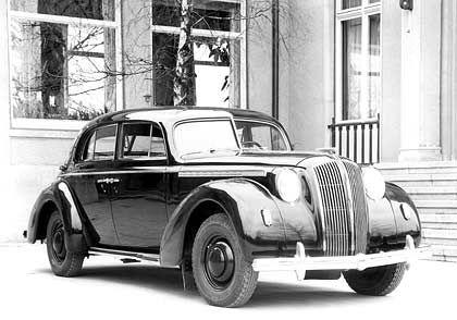 Stolz der 30er Jahre: Opel Admiral