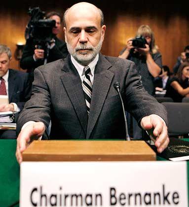 Fedchef Bernanke: Niedrigstes Zinsniveau seit den 50er Jahren erwartet