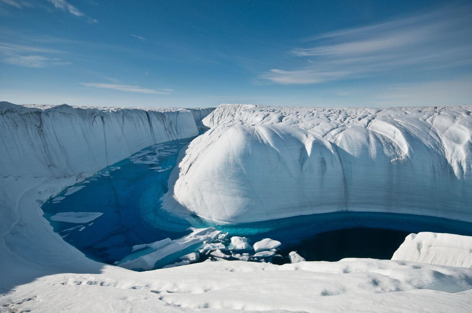 Grönland-Eisschmelze hob Meeresspiegel um fast elf Millimeter an