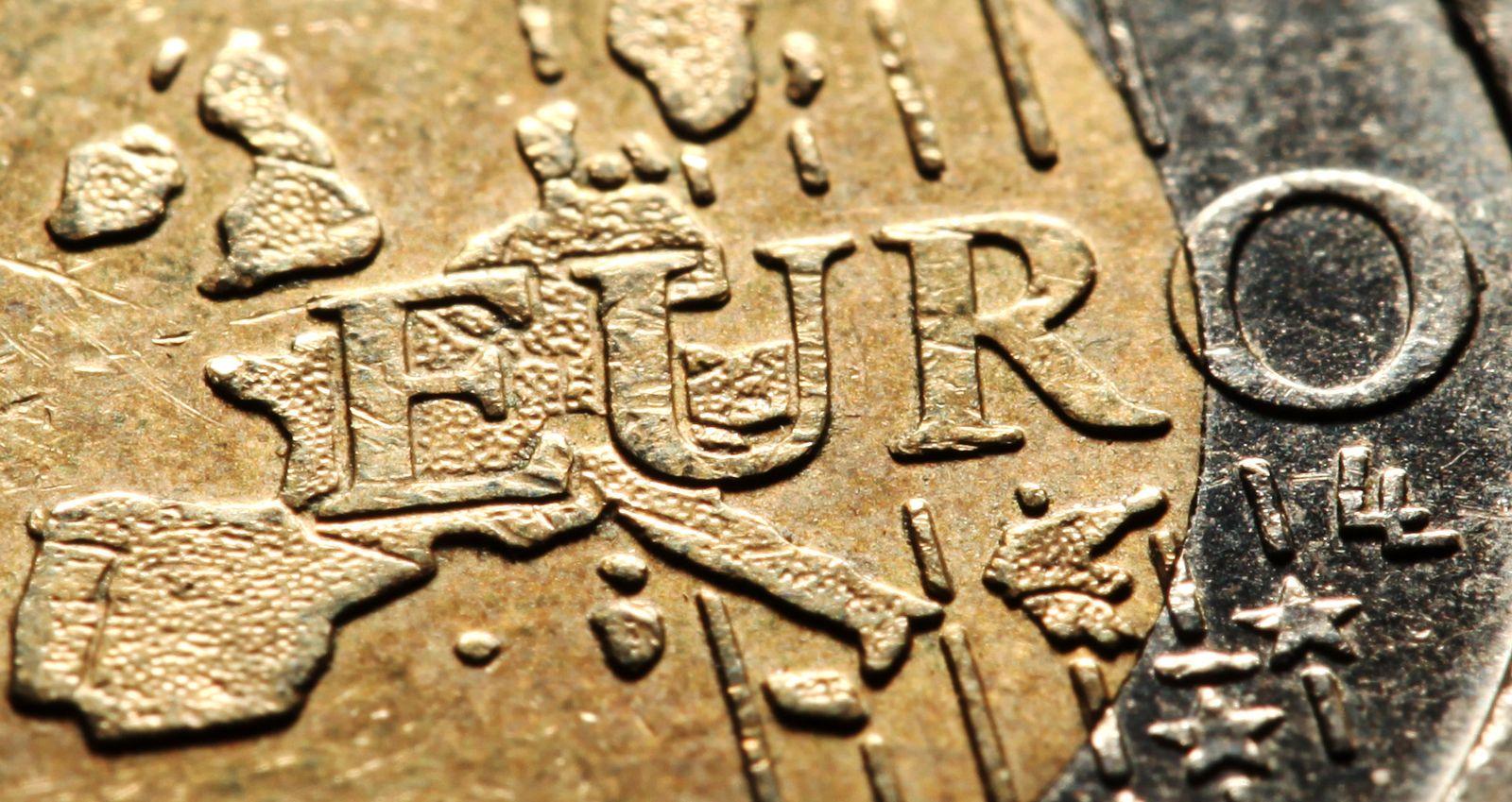 Euro-Münze/ Stabilitätspakt